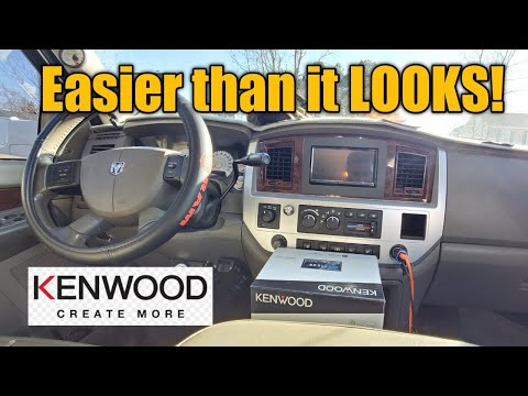 How to Install Double Din Radio on 06-09 Dodge Ram
