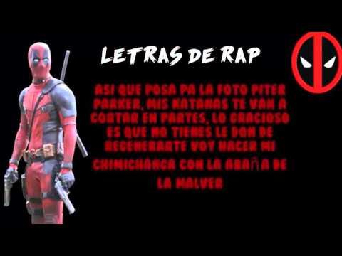 Letra Deadpool VS Spiderman Zarcort Cyclo Kronno Zomber