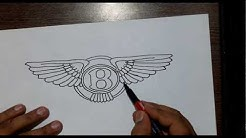 Just Draw It - Bentley logo by hand