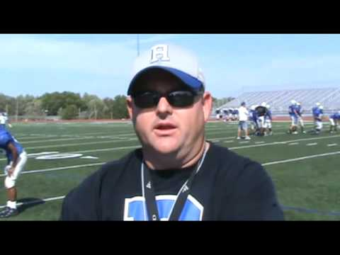 Coaches Corner interview with Raytown Head Football Coach Kevin Page