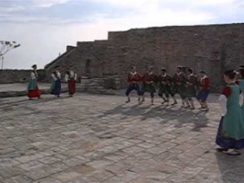 Folkloric dance group Montenegro