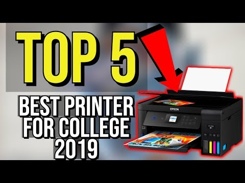 ✅ TOP 5: Best Printers For College Students 2019