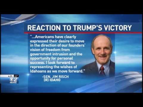Idaho Congressional Delegation Reacts to Trump Victory