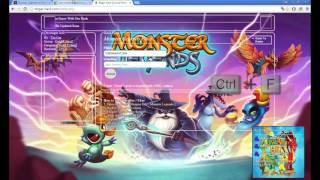 Hack Monster Legends Comida e Ouro 2016