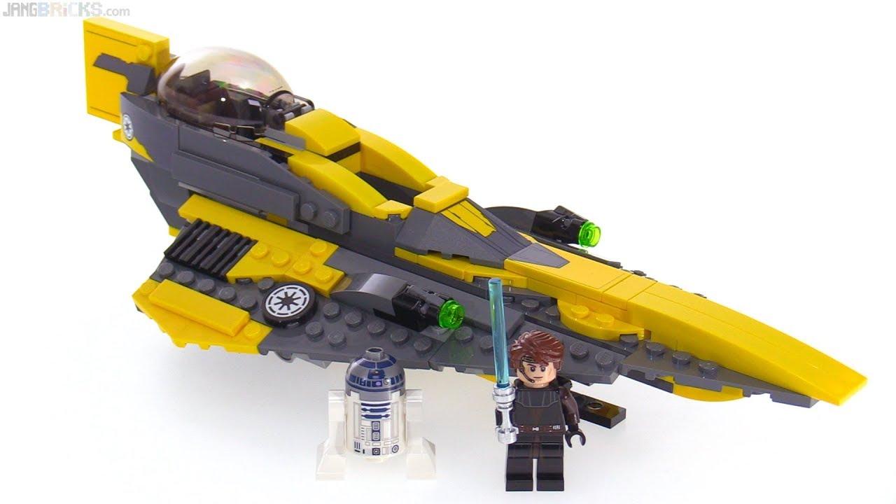Lego Star Wars Anakin S Jedi Starfighter Review 75214 Youtube