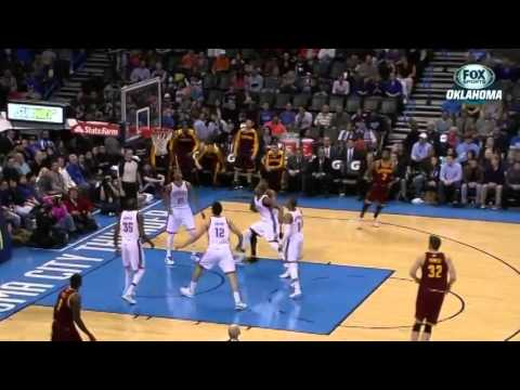 Kyrie Irving CROSSES UP Thabo Sefolosha #SCtop10