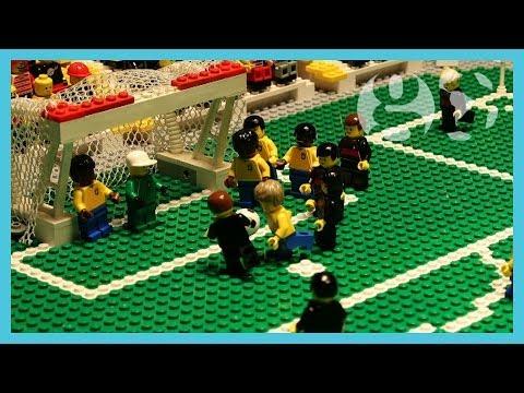 Brazil vs Germany 2014   World Cup 2014   Brick-by-brick