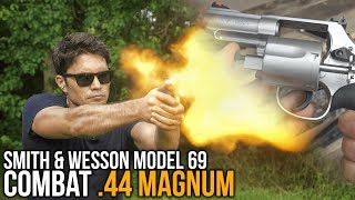 Smith & Wesson Model 69 Combat .44 Magnum Review (and Score!)