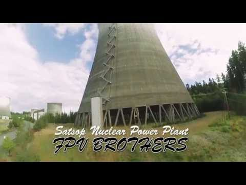 Diving an Abandoned Nuclear Cooling Tower - FPV - Pt. 1