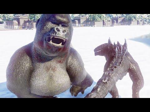 GODZILLA vs KING KONG (JURASSIC WORLD EVOLUTION) |