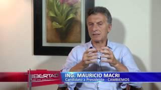 Mauricio Macri en Libertad de Opinión - Santiago del Estero-