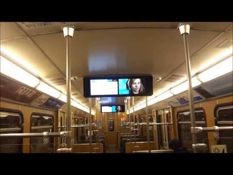 U-Bahn München - Mitfahrt im Typ A mit neuer Fahrgastinformation (Münchner Fenster) auf der U6 [HD]