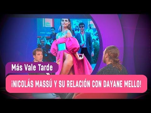 Nicolás Massú y su relación con Dayane Mello - Más Vale Tarde 2016
