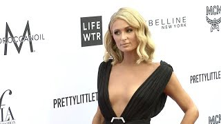 Paris Hilton at Daily Front Row Fashion Awards red carpet