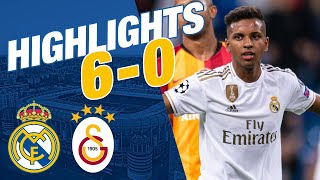 Goals And Highlights | Real Madrid 6 0 Galatasaray