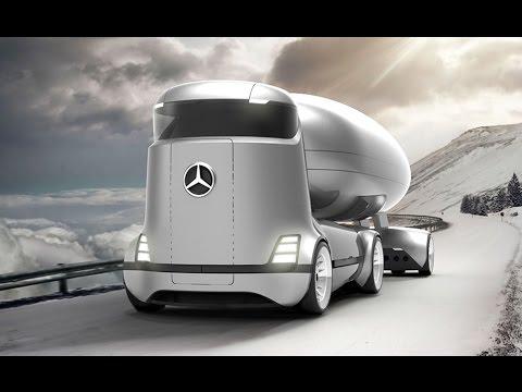 Future Mercedes-Benz E-Truck Concept - YouTube