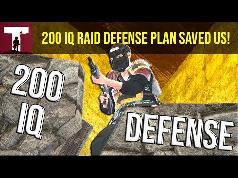 200IQ RAID DEFENSE PLAN SAVED US! (Rust) thumbnail