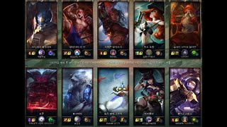 LOL 리그오브레전드 롤 브론즈4 게임플레이 League of Legends Bronze4 Full Game…