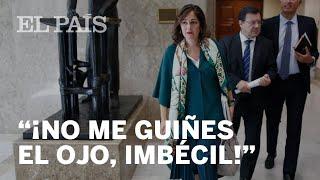 """RUFIÁN llama """"PALMERA"""" de Cascos a una diputada del PP y ella le contesta """"IMBÉCIL"""""""