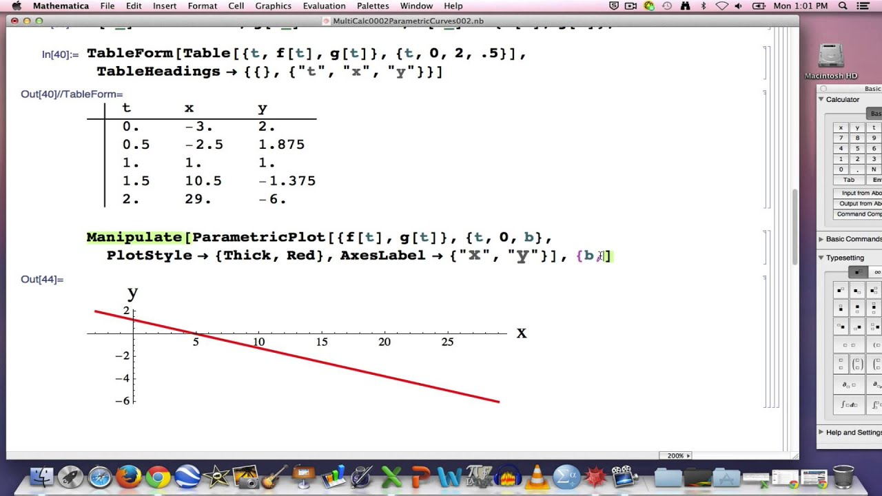 how to make curve graph