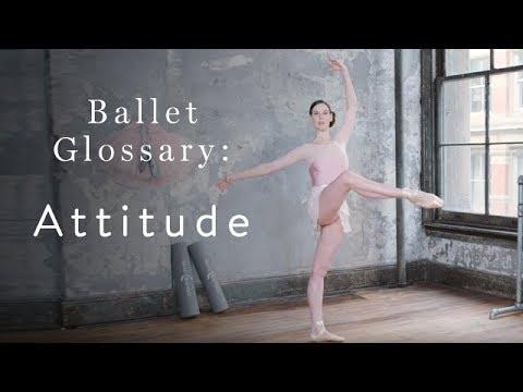 Ballet Glossary Attitude - YouTube