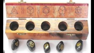 Geometry Sets, Sacred Geometry Crystals, wholesale sacred geometry sets