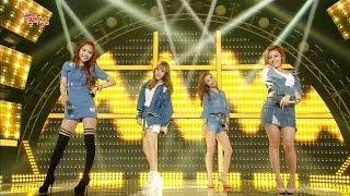 【TVPP】MAMAMOO – Um Oh Ah Yeh, 마마무 - 음오아예 @Comeback Stage, Show Music Core Live