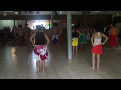 Dance Practice on Hiva Oa, Marquesas Islands