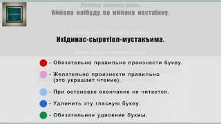 Cура Аль-Фатихьа (урок на чеченском)