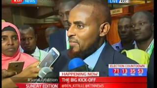 Trouble Abduba Dida is facing with his nomination papers