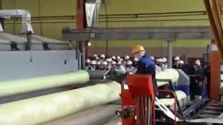видео Технология производства стеклопластиковых труб