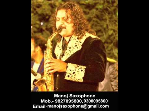Kisi raah mein on saxophone by Manoj