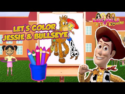 Free Toy Story Jessie Coloring Pages, Download Free Clip Art, Free ... | 360x480