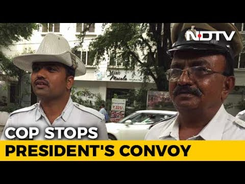 Bengaluru Cop A Hero For Allowing Ambulance Ahead Of President's Convoy