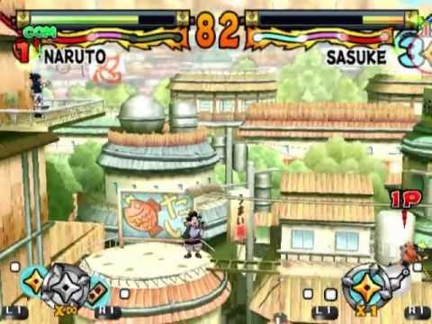 Naruto: Ultimate Ninja (PS2 Gameplay)