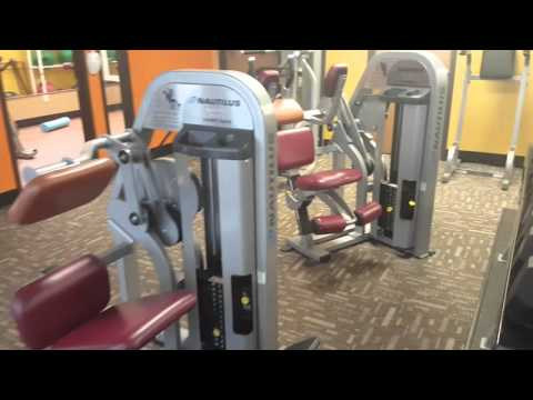 A walkthrough  of my new gym anytime fitness