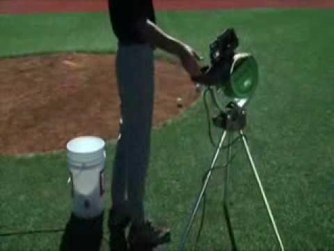 Atec Power Streak Baseball Softball Pitching Machine