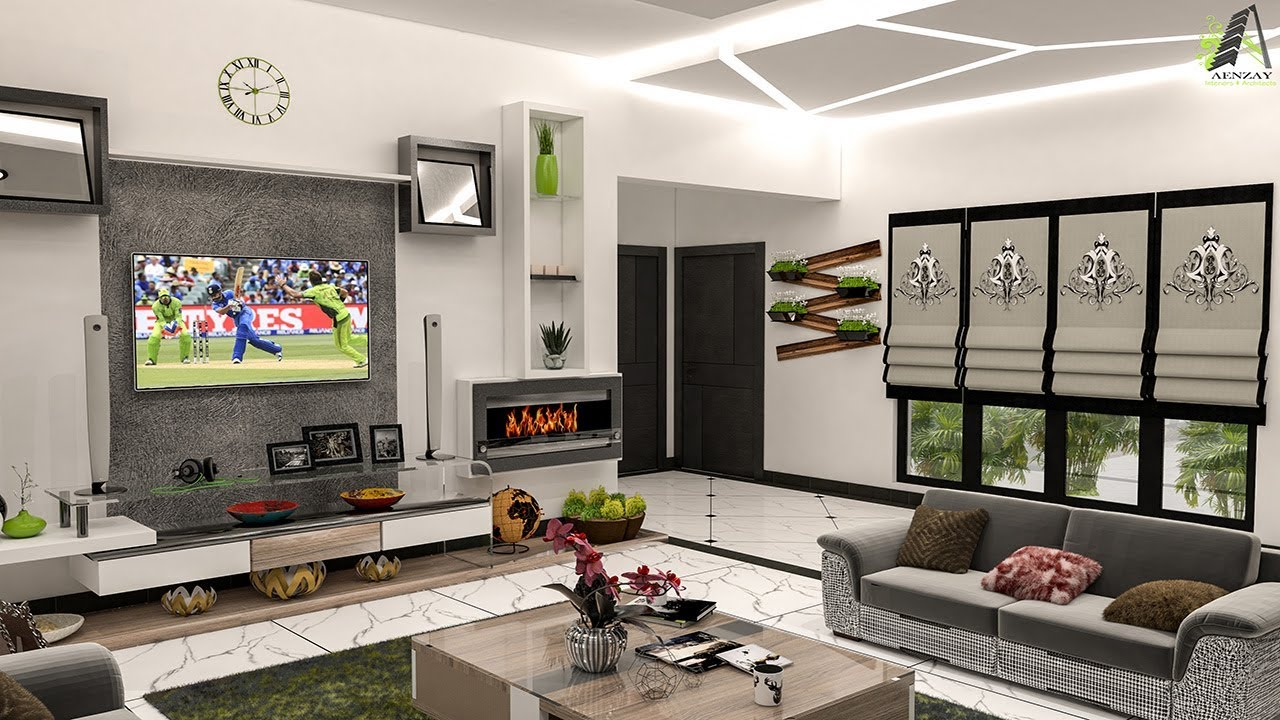Dashing and Incredible Tv Lounge Interior Design | Complete Plan With All  Decor Perspectives 2018