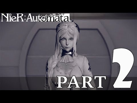 NEIR AUTOMATA | Traders (Ally) Request | GAMEPLAY PART 2 (WALKTHROUGH) | PopTart Gamer