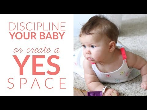 How to Discipline a One Year Old (or create a YES SPACE!) - YouTube
