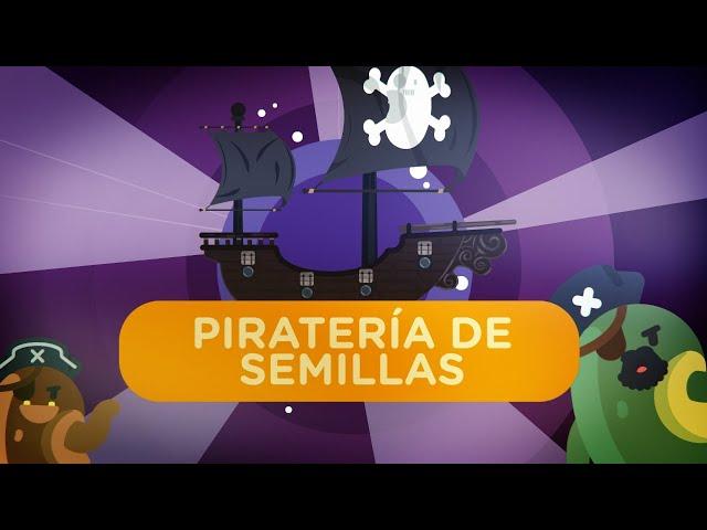 ¿Qué es la piratería de semillas?