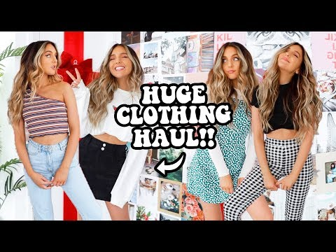 HUGE TRY-ON CLOTHING HAUL! (a Girl Is Excited For Black Friday Ok)