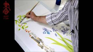 Максим Парнах обучает нас 5-и базовым мазкам живописи у-син