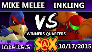 Fall Arcadian - Mike Melee (Falco) Vs. Inkling (Samus) SSBM Winners Quarters - Smash Melee