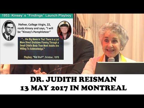Judith Reisman - Colloque sur le cours d'éducation sexuelle du Québec - Montreal Sex Ed Colloquium