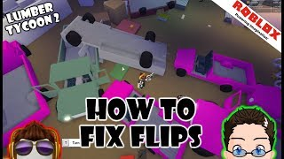 Roblox - Lumber Tycoon 2 - How To Fix Your Flipped Trucks