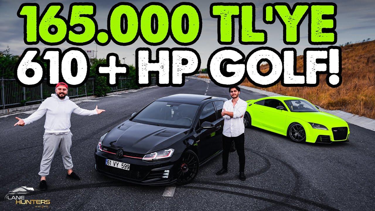 Download 165.000 TL'ye 610 BEYGİR VW GOLF!   ŞOK EDİCİ GÜÇ!