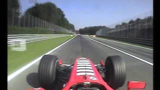 F1 Monza 2005 FP4 - Michael Schumacher Epic Onboard Action!