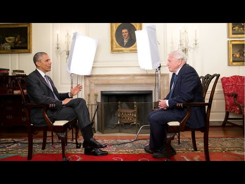 Thumbnail: Sir David Attenborough & President Obama