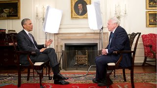 Sir David Attenborough & President Obama
